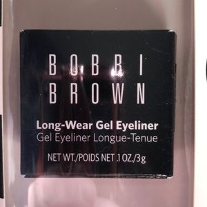 Black Bobbi Brown long wear gel eyeliner